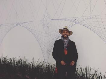 Jaguart Merlin, artista geómetra