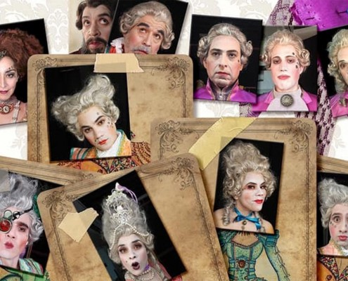 Las Preciosas Ridículas de Molière, Reestreno de la Compañía Nacional de Teatro