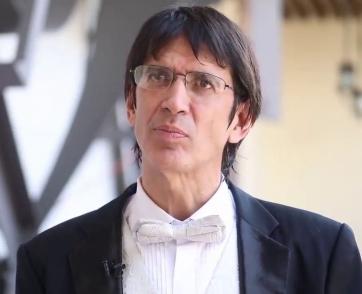 Eduardo García Barrios director del Sistema Nacional de Fomento Musical de la Secretaría de Cultura