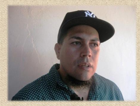 El bardo Oscar Cruz