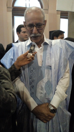 Presidente de la República Árabe Saharaui Democrática, Excmo. Sr. Brahim Gali