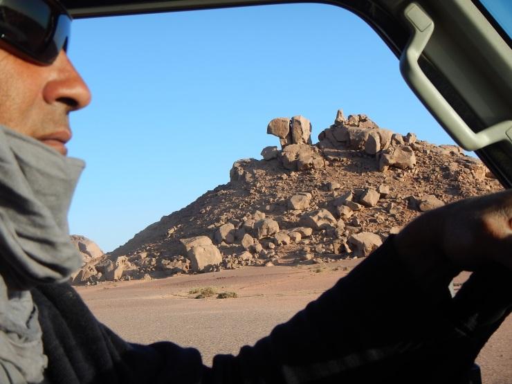 Camello de piedra