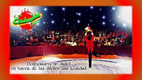 chimbombin jr. un payaso mexicano con gran talento