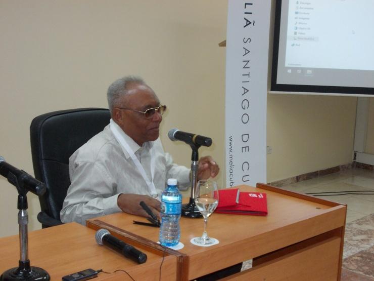 Rodulfo  Vaillant,  Presidente del Comité  Provincial de la Unión de Escritores y  Artistas