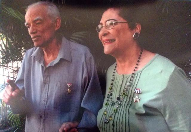 Doctores Vitelio Ruíz y Eloina Miyares Bermúdez