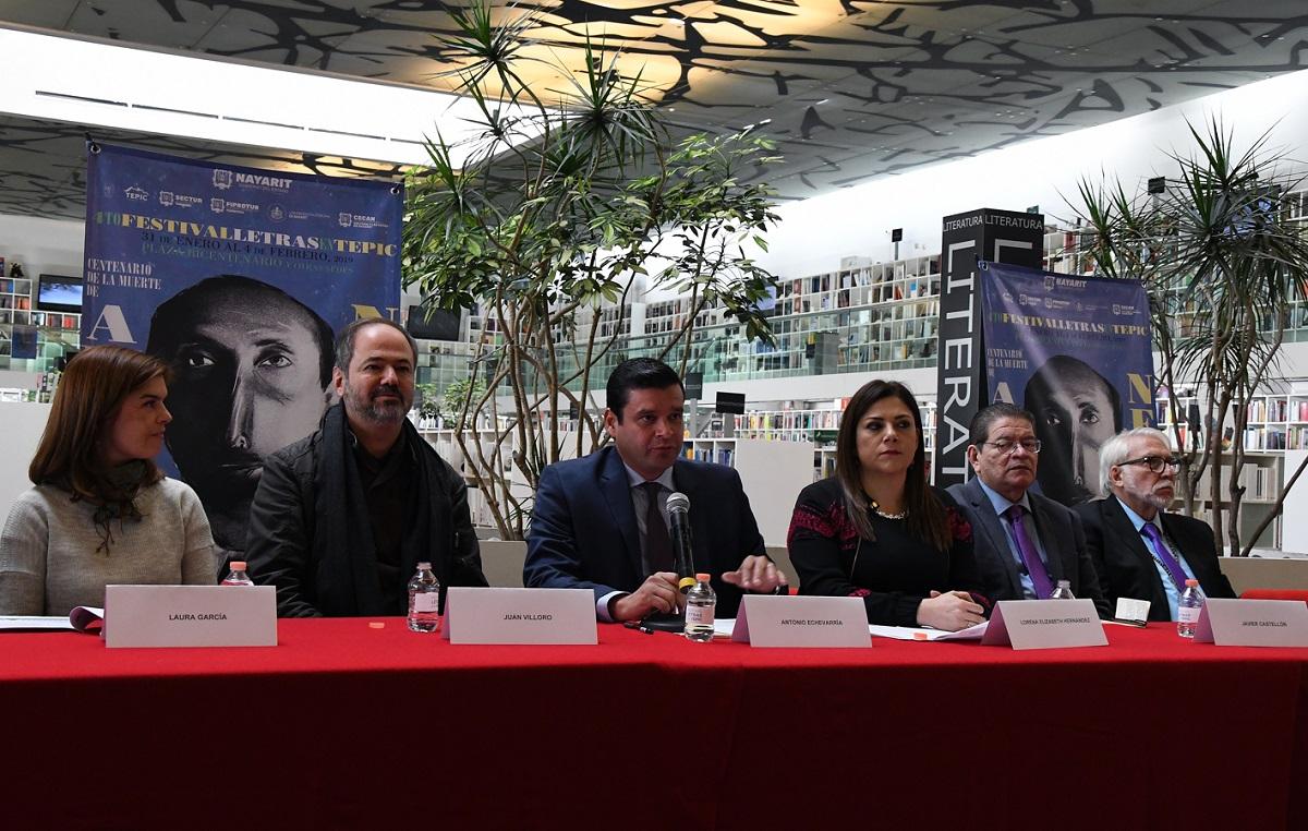 Homenaje al Gran Poeta Amado Nervo en el Festival de Letras en Tepic