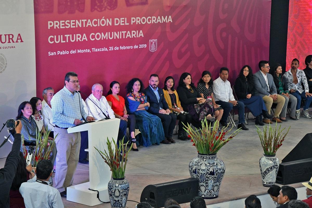 Programa Cultural Comunitaria en Tlaxcala