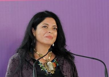 secretaria de Cultura, Alejandra Frausto