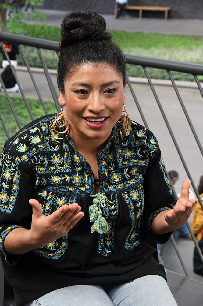 María Reyna González soprano mixe