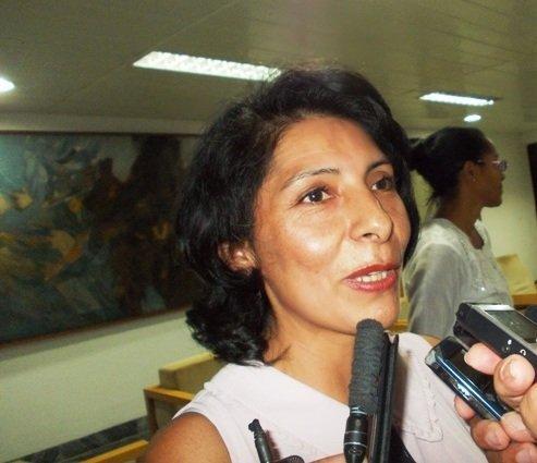 Alidson Celia Gómez Agostopa Embajadora en funciones de Bolivia en Cuba