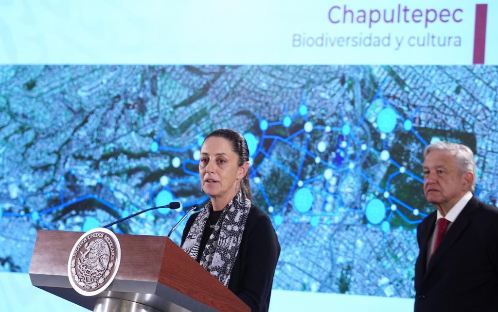 jefa de Gobierno de la Ciudad de México, Claudia Sheinbaum Pardo