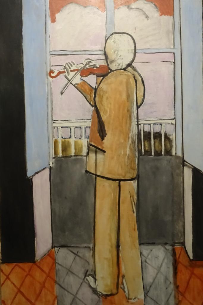 El violinista en la ventana