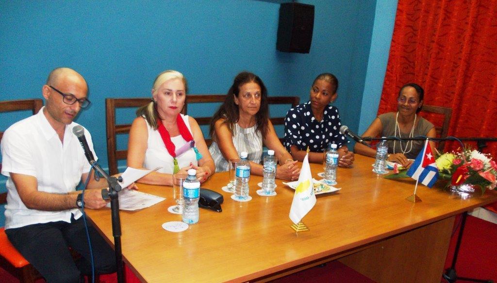 Stelios Georgiades, Encargado de Negocios de la Embajada de Chipre en la Habana