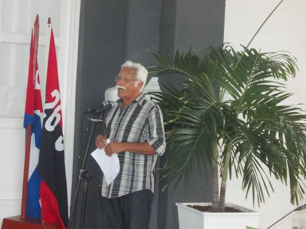 Omar López conservador de la urbe ssantiaguera