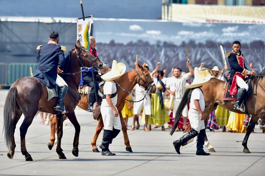Desfile Histórico Conmemorativo del 109 Aniversario del inicio la Revolución Mexicana
