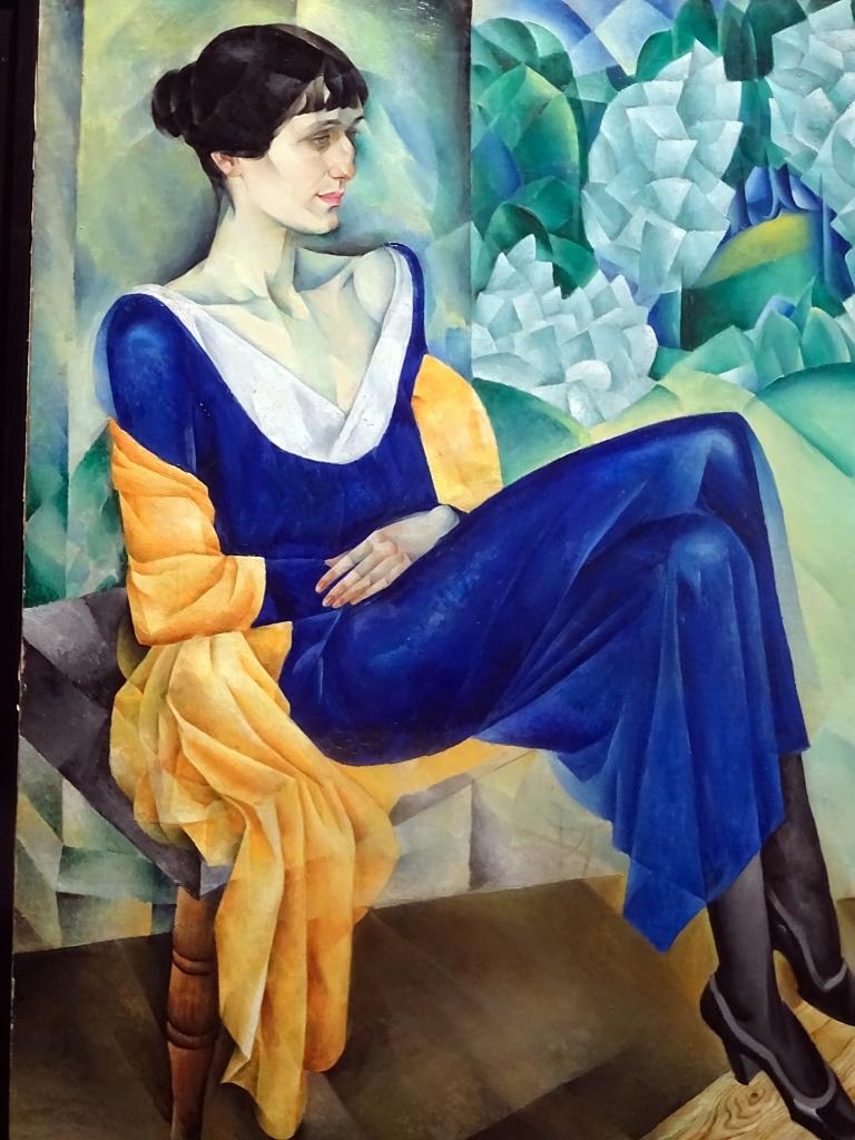 Retrato Ana Ajmátova, 1915
