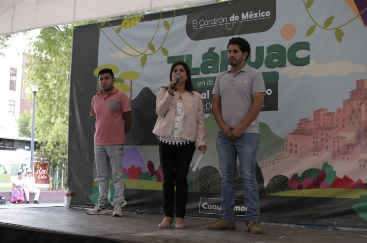 Festival de Flores de Primavera Tláhuac en Cuauhtémoc