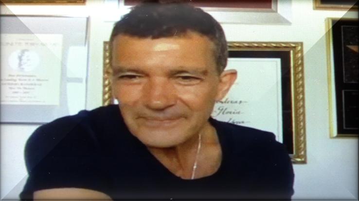 #Covid19 Antonio Banderas